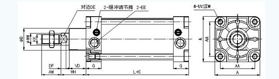 qgs系列气缸,k23jd电磁阀